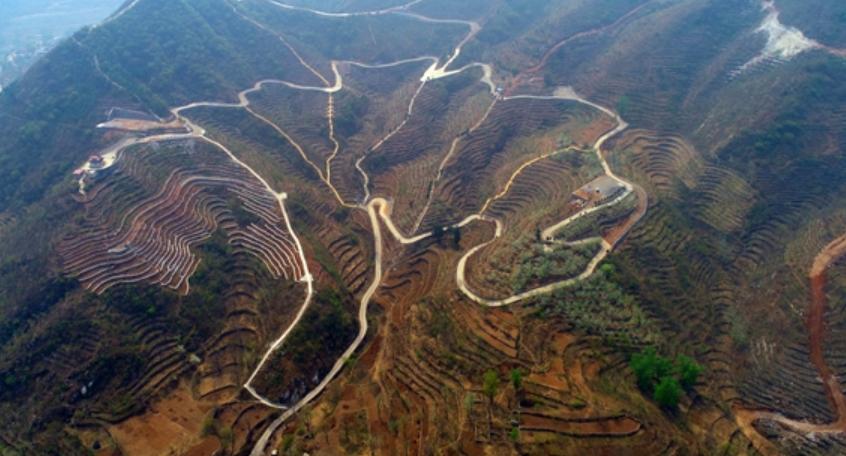 房山区佛子庄乡启动荒山造林工程