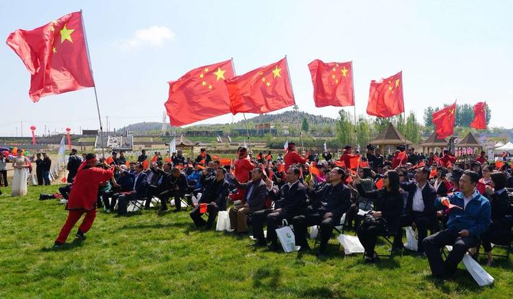 2019年韩村河镇天开花海第七届油菜花节开幕