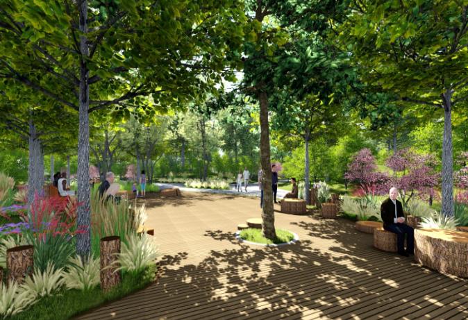 2019年房山区公园绿地及小微绿地建设项目全面启动