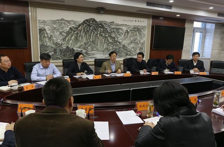 """2019年度房山区""""两新""""组织党建工作联席会"""