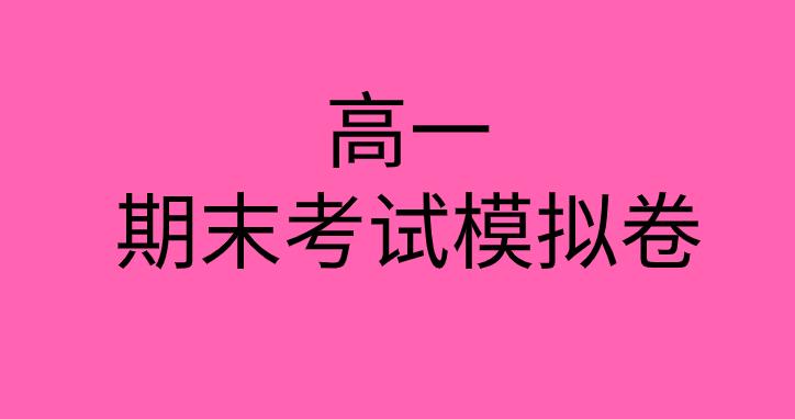 2019-2020高一化学下册期末考试模拟测试卷(湖北黄石实验高中)